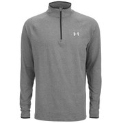 Under Armour Men's Heat Gear Flyweight 1/4 Zip Running Top - Black/Reflective