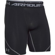 Under Armour Men's Heat Gear Armourstretch Compression Training Shorts - Black/Graphite