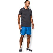 Under Armour Men's Launch 7 Inch Woven Running Shorts - Blue Jet/Black/Reflective
