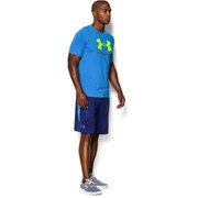 Under Armour Men's Sportstyle Logo T-Shirt - Blue Jet/High Vis Yellow
