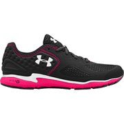 Under Armour Women's Micro G Mantis 2 Running Shoes - Black/Pink Shock/White