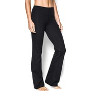 Under Armour Women's Perfect Studio Pants - Black/Metallic Pewter