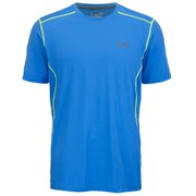 Under Armour Men's Raid Short Sleeve Training T-Shirt - Blue Jet/High Vis Yellow