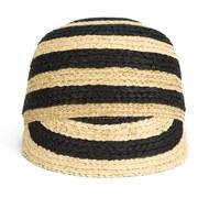 Maison Scotch Women's Straw Baseball Cap - Natural