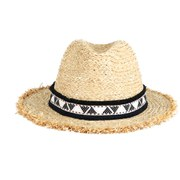 Maison Scotch Women's Straw Hat - Natural