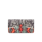 McQ Alexander McQueen Poppy Clutch Bag - Elaphe Mix