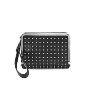 McQ Alexander McQueen Aira Clutch Bag - Black