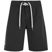 Animal Mens 20 Inch Bodella Fixed Waist Board Shorts - Black