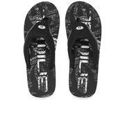 Animal Men's Jekyl Logo Flip Flops - Black