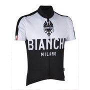 Bianchi Nalon Short Sleeve Jersey - Black/White