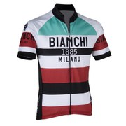 Bianchi Ardila Short Sleeve Jersey - Red/White