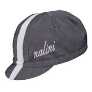 Nalini Blue Label Settanta Cycling Cap - Grey/White