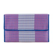 French Connection Women's Savanna Clutch Bag - Cosmos Electric Blue