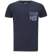 WeSC Men's Sarek Hawaii Pocket T-Shirt - Blue Iris