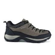 Gola Men's Aberdare Low Dri-Tex Waterproof Hiking Shoes - Grey/Lime/Black