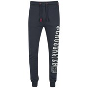 Crosshatch Men's Fitzroy Sweatpants - Total Eclipse