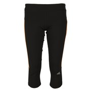 adidas Response Women's 3/4 Tights - Black/Flash Orange