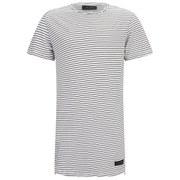 Religion Men's Marley Stripe Short Sleeve Crew Neck T-Shirt - White/Black