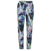 nümph Womens Palma Printed Trousers - Subtle Green