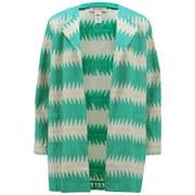 Mara Hoffman Women's Jaquard Jacket - Turquoise