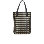By Malene Birger Women's Irinki Eylet Leather Tote Bag - Black