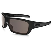 Oakley Turbine Sunglasses - Matte Black/Warm Grey