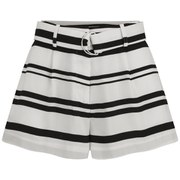 Finders Keepers Women's Today's Supernatural Shorts - Light Stripe