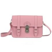 Grafea Women's Paris Leather Satchel - Pink