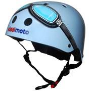 Kiddimoto Goggle Helmet - Blue