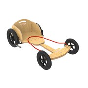 Kiddimoto Natural Boxkart