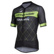 Cannondale Garmin Climbers Jersey - Black/Green