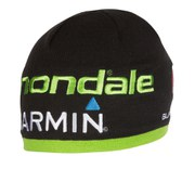 Castelli Cannondale Garmin Team Tuque Beanie - Black/Green