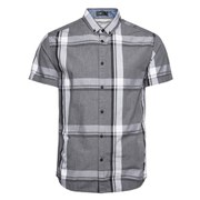 Jack & Jones Men's Short Sleeved Type Shirt - Grey Check