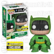 DC Comics Batman 75th Anniversary Green Rainbow Batman EE Exclusive Pop! Vinyl Figure