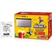 Nintendo 3DS XL Silver/Black + New Super Mario Bros 2