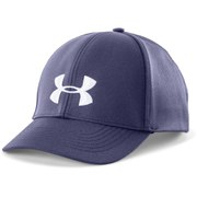 Under Armour Women's Big Logo Running Cap - Faded Ink/White