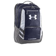 Under Armour Hustle Backpack - Midnight Navy/Graphite/White