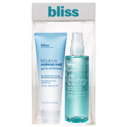 bliss Basic 'Skin'-Stinct Fabulous Make-Up Cleanser and Toner Duo (Worth £45.00)