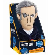 Doctor Who 12th Doctor Peter Capaldi Medium Talking Plush