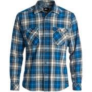 Quiksilver Men's Everyday Flannel Check Shirt - Victoria Blue