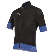 Santini Photon Aero Short Sleeve Jersey - Black