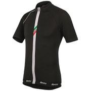 Santini Zeit Lite Short Sleeve Jersey - Black