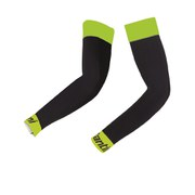 Santini B-HOT Arm Warmers - Black/Yellow