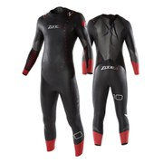 Zone3 Aspire Men's Wetsuit - Black/Red