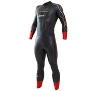 Zone3 Vanquish Men's Wetsuit - Black/Red
