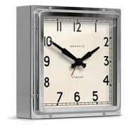 Newgate Mini Quad Clock - Chrome