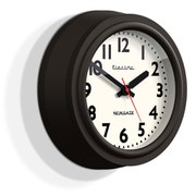 Newgate Telectric Clock - Black