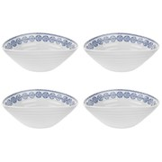 Sophie Conran for Portmeirion Cereal Bowl - Florence - White (Set of 4)