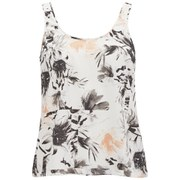 Vero Moda Women's Kylie Floral Vest Top - Tropical Peach