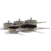 Morphy Richards Accents 5 Piece Pan Set - Barley